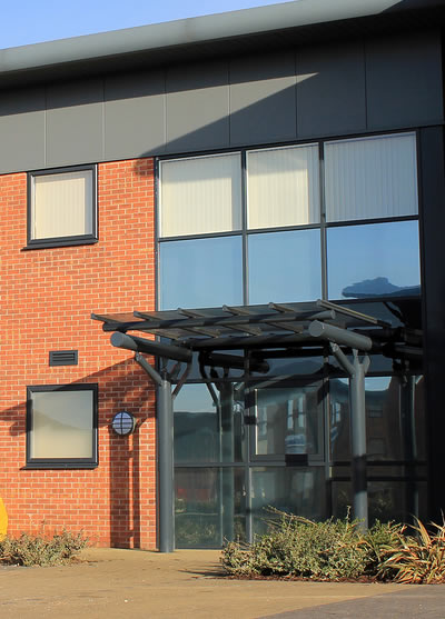 Commercial window cleaning services in Kettering, Corby, Burton Latimer and Thrapston