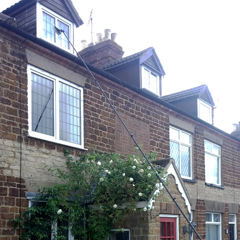 Contact CF Facilities for window cleaning in Kettering