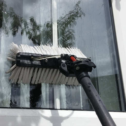 Reach and wash window Cleaning for offices in Kettering and Corby
